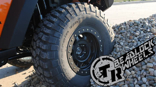Trailready Beadlock Wheels at JK Gear